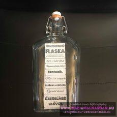 Igazmondó Flaska hazugságvizsgáló csatosmércésüveg FÉLLITERES