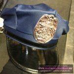 POLICE Rendőr sapka Textil kék