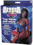 Alecia King néger felfújható guminő