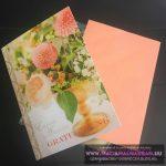 """Esküvői pénzes képeslap borítékkal """"Boglárka"""""""