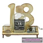 Verkli 18. Születésnapra pálinkás zenélő szett 0,1l