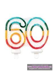 Gyertya 60. születésnap