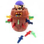Társasjáték részeg tengerész+6db pohár