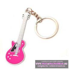 Kulcstartó gitár többféle
