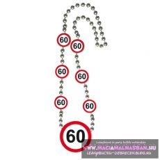 Nyaklánc 60 sebességkorlátozó