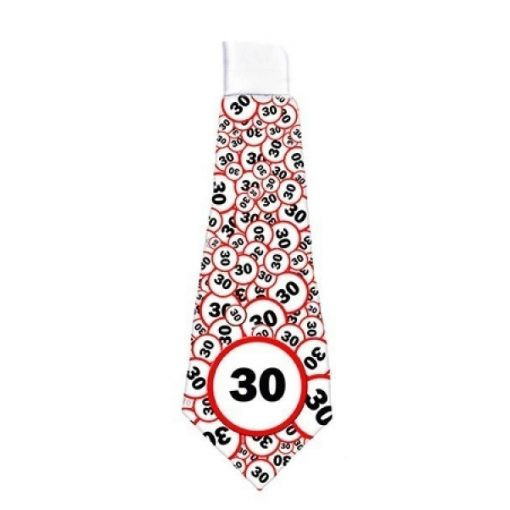 Nyakkendő 30 évszámos születésnapra NY003