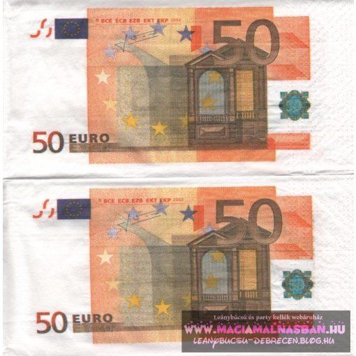 Szalvéta Euro 50