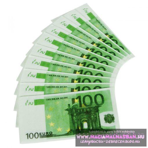Szalvéta Euro 100