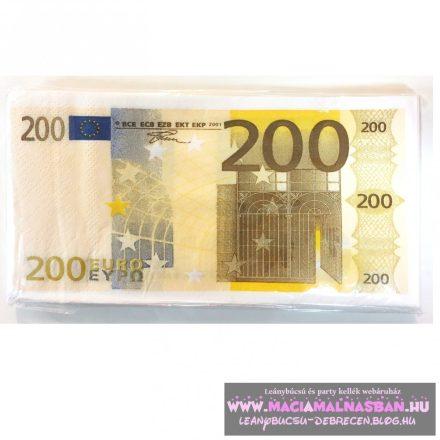Szalvéta Euro 200