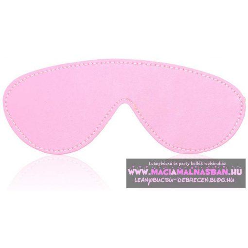 Miya Fétish szemmaszk PINK rózsaszín