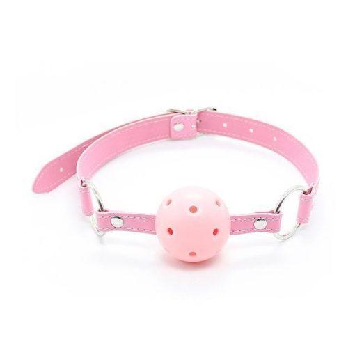 Miya Fétish szájgolyó gag PINK rózsaszín
