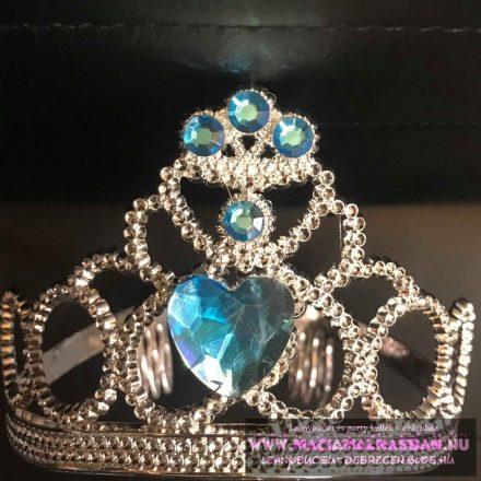 Tiara - kék kövekkel