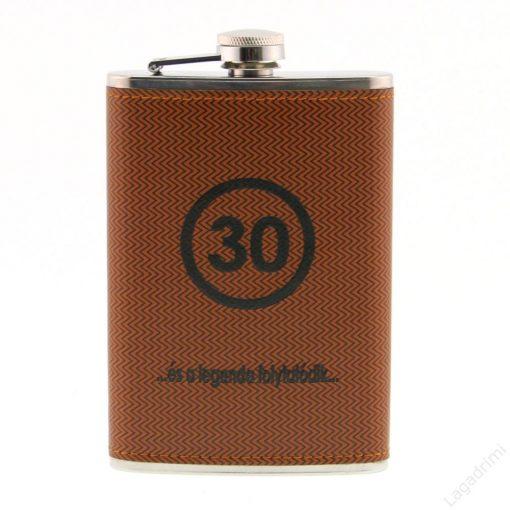 Fém flaska LAPOSÜVEG 30 év