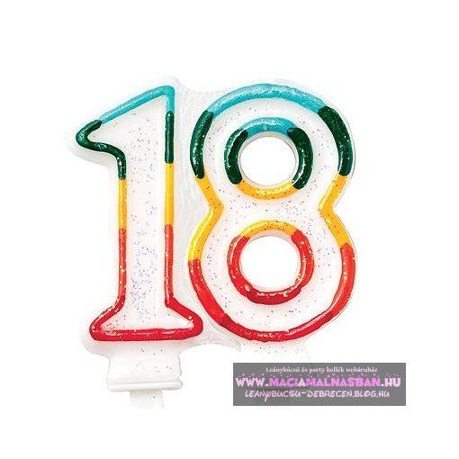 Gyertya 18. születésnap