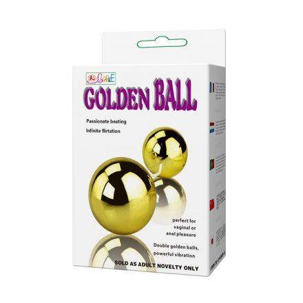 Golden Ball - aranyszínű vibrációs gésagolyó