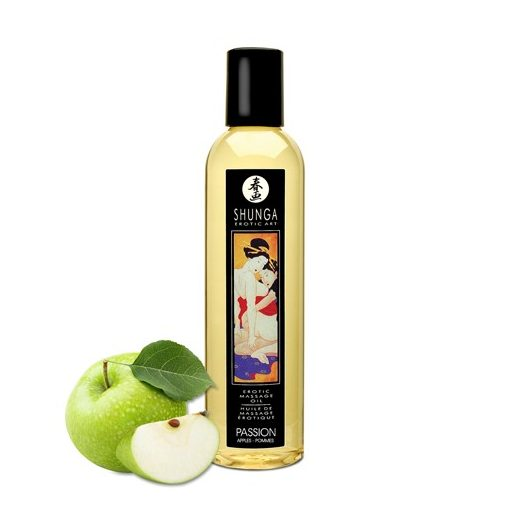 Shunga erotikus masszázs olaj - alma 250ml