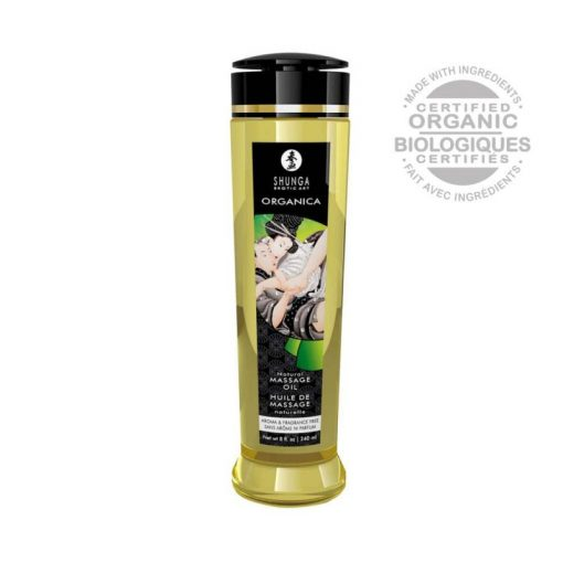 Shunga ORGANICA erotikus masszázs olaj NATÚR 250 ml