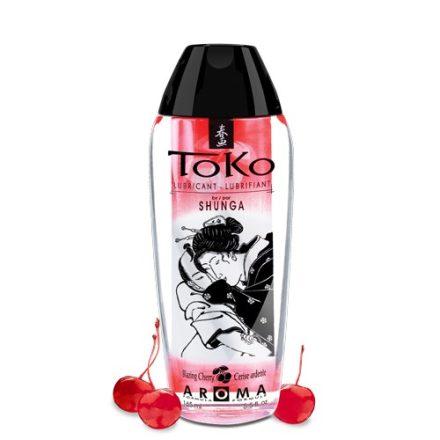 Shunga TOKO CHERRY ehető ízesített síkosító 165 ml