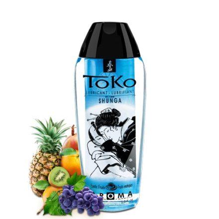 Shunga TOKO EGZOTIKUS GYÜMÖLCS ehető ízesített síkosító 165 ml