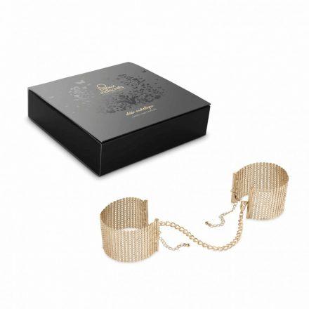Bijoux indiscrets -DÉSIR MÉTALLIQUE - fém hálós bilincs (arany)