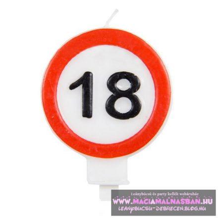 Gyertya 18. születésnap Sebességkorlátozó