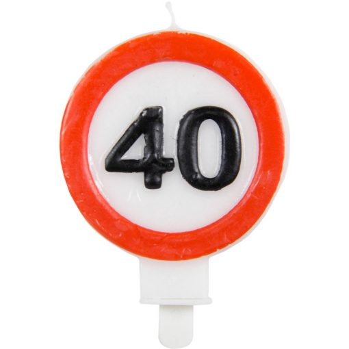 Gyertya 40. születésnap Sebességkorlátozó