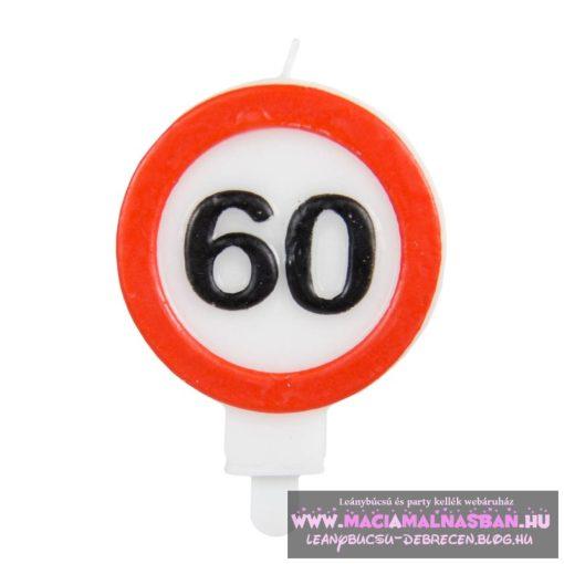 Gyertya 60. születésnap Sebességkorlátozó